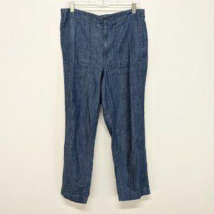 J. Crew Blue Soft Denim Pants
